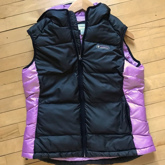 Timberland Winter Warm Puffy Down Vest Med Black